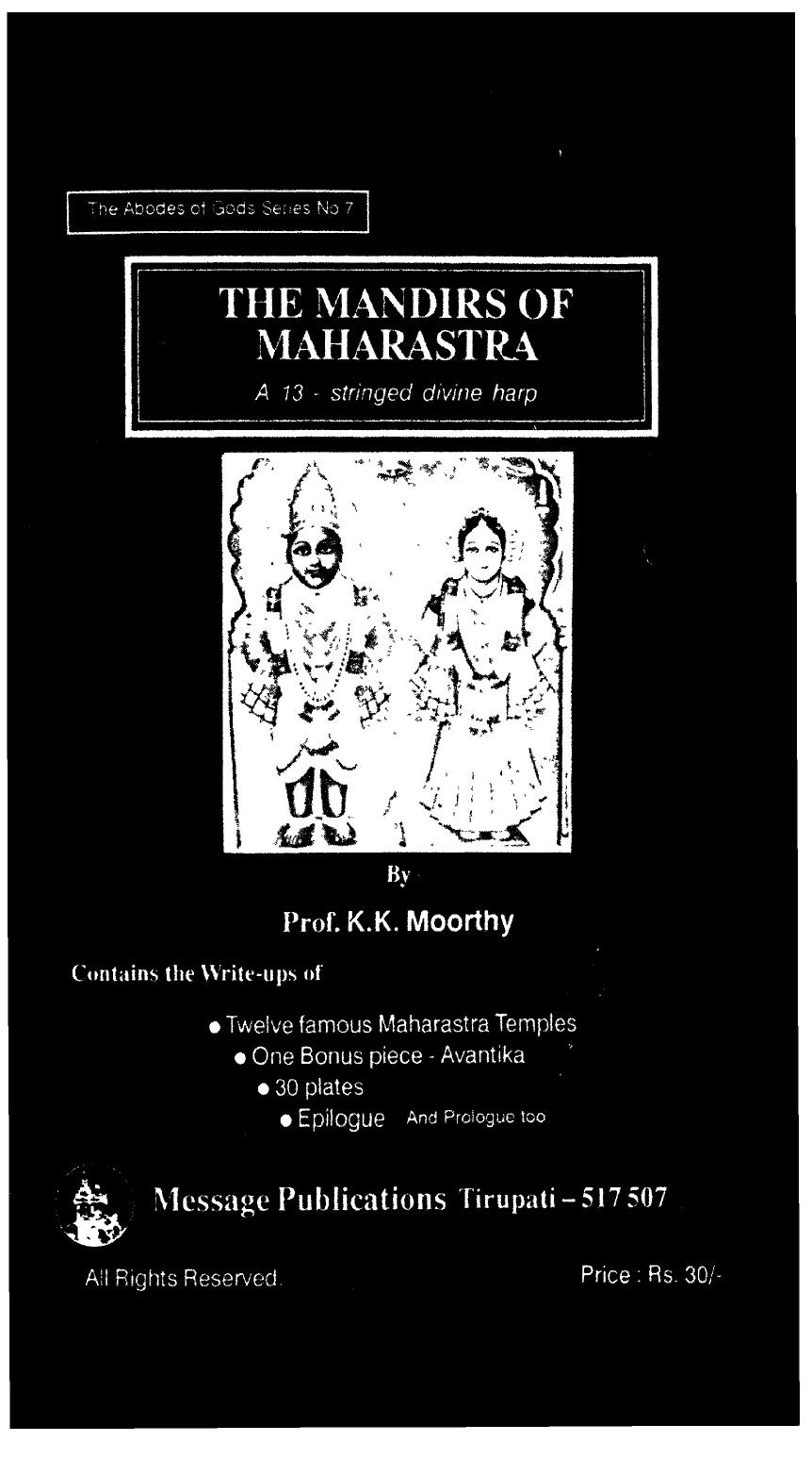 The Mandirs Of Maharastra