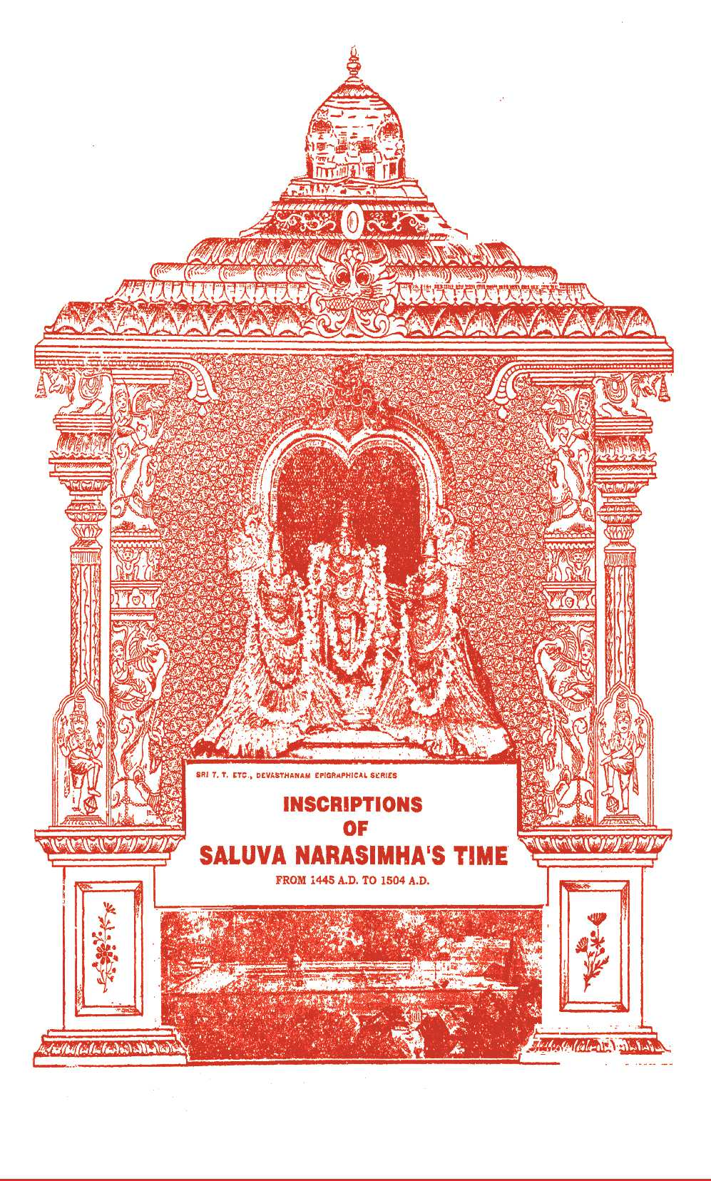 Inscriptions Of Saluva Narasimhas Time From 1445 A D To 1504 A D